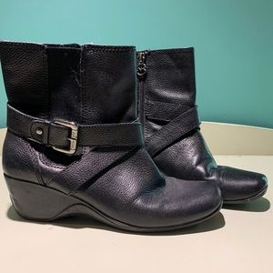 Anne Klein Sport Leather Booties